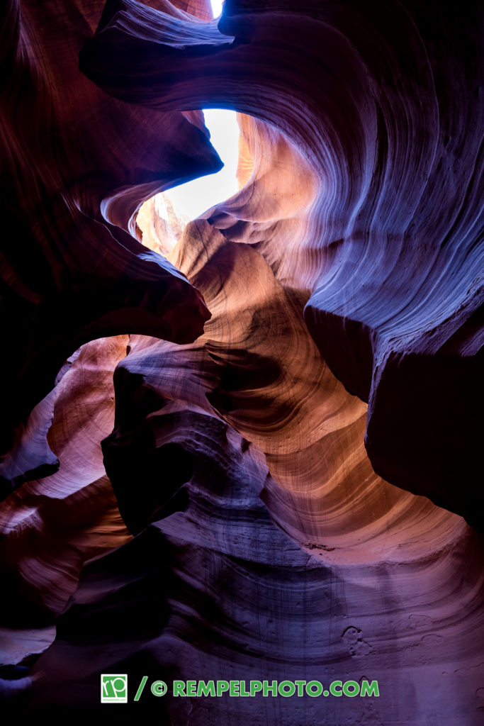Upper Antelope Canyon, Arizona, Brad Rempel