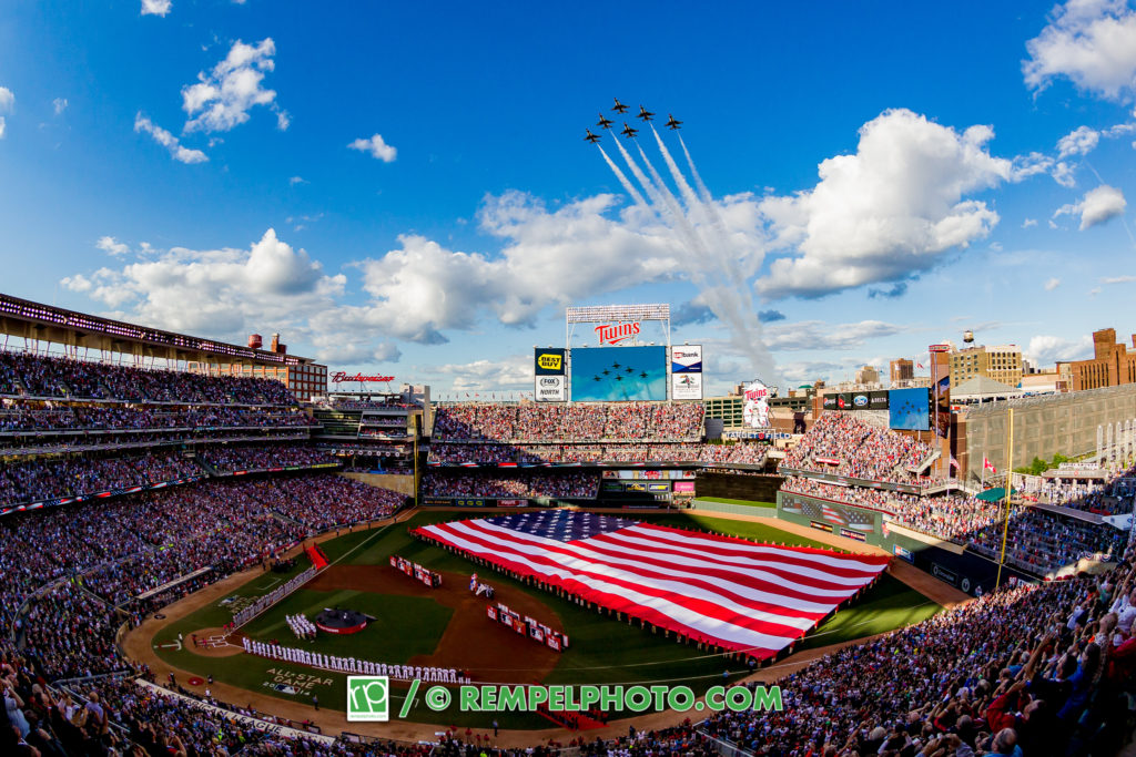 All Star Game 2014 Flyover