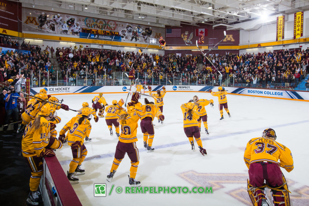 Brad Rempel - University of Minnesota Gopher Women's Hockey
