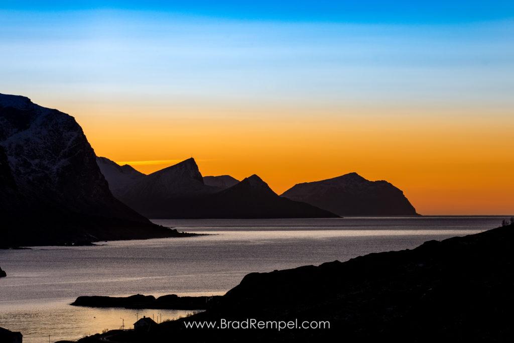Lofoten, Lofoten Islands, Maervollspollen, Mærvollspollen, Norway, Sunset, Unstad - Brad Rempel