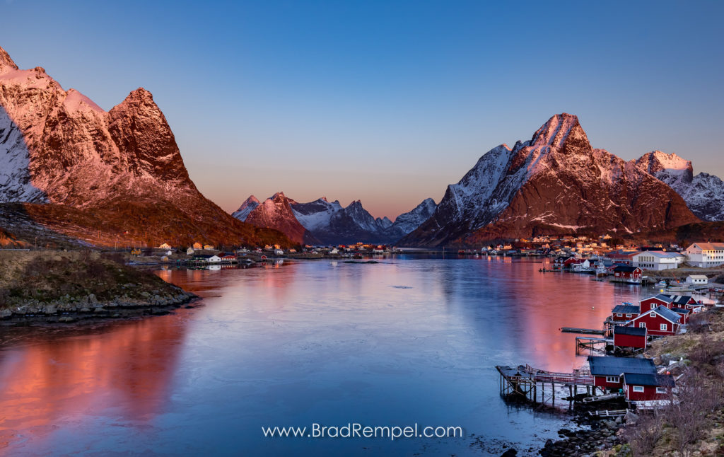 Reine Sunrise, Norway - Brad Rempel