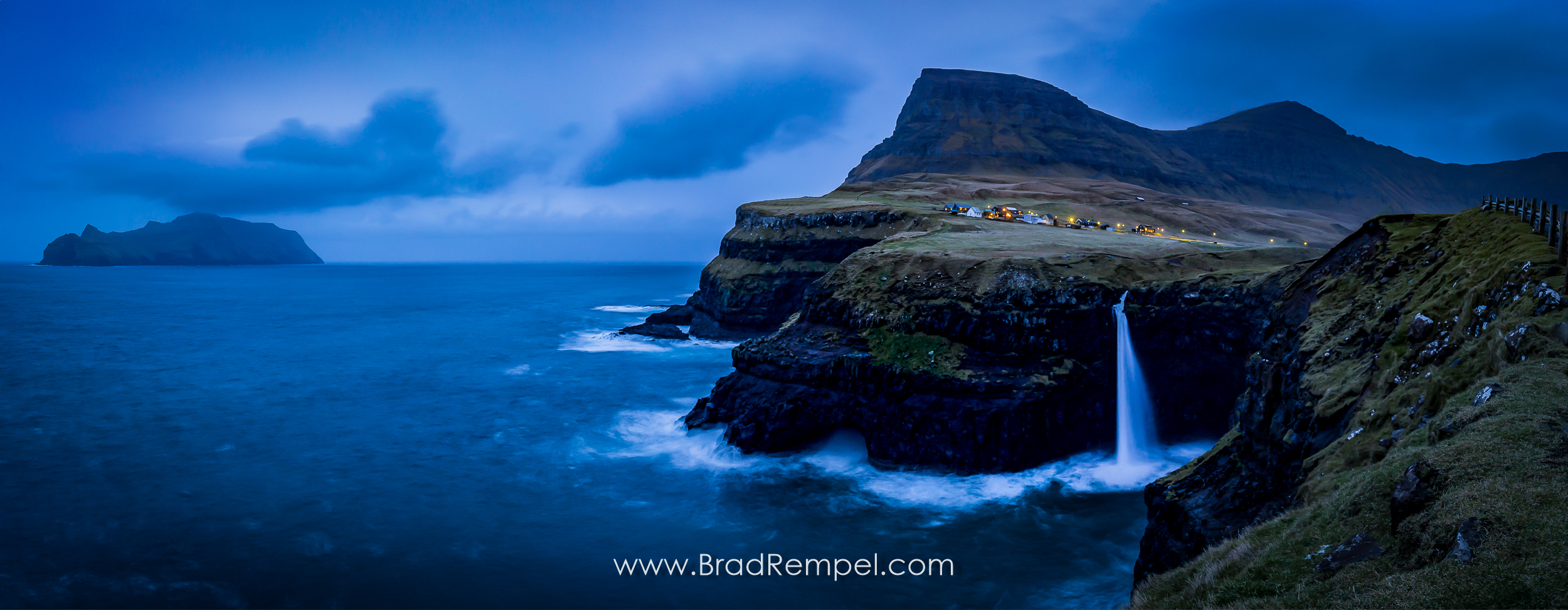 Gasadalur and Mulafossur, Faroe Islands - Brad Rempel