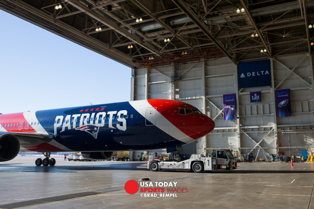 New England Patriots Jet